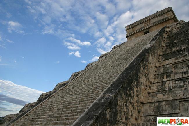 Piramide Castillo Chichen Itza : Mexplora