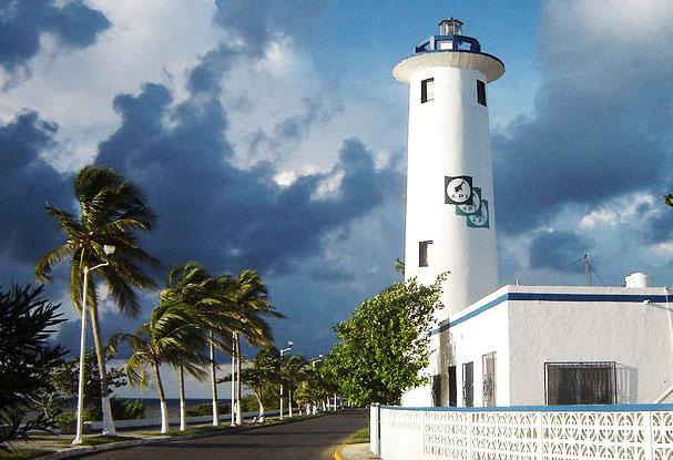 Faro de Chetumal Quintana Roo