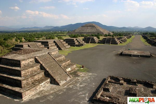 Piramides de Teotihuacan : Mexplora