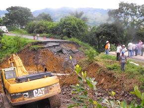 Cerca de las inmediaciones de Apapantilla, cerca de la carretera México - Tuxpan