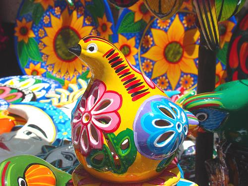 típicas artesanías mexicanas