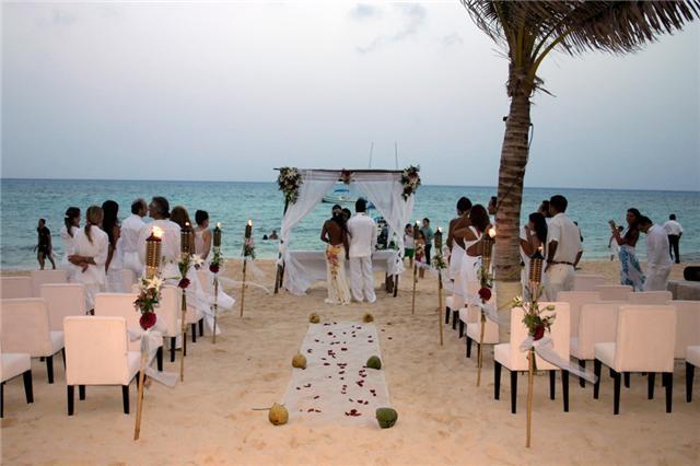 boda playa mexico