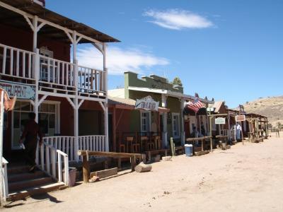 villa del oeste, parque temático, Durango