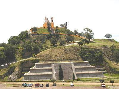 Gran Piramide de Cholula, puebla, Tlachihualtepetl