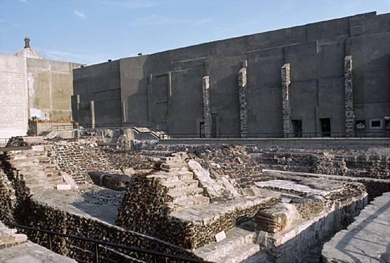 templo mayor aztecas ciudad de mexico