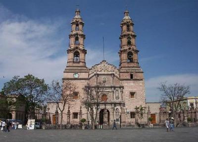 edificios coloniales, aguascalientes, ciudad, turismo