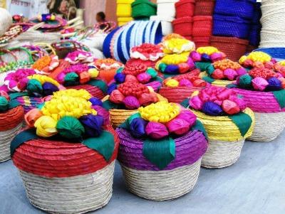 cestería, concha, carey, artesanías, cera