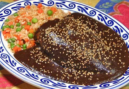mole, puebla, dulces, chiles en nogada