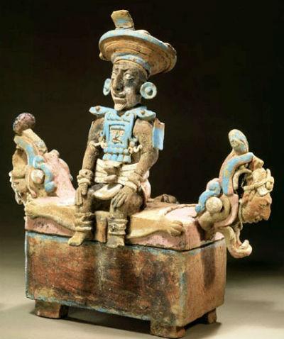 Maya Throne