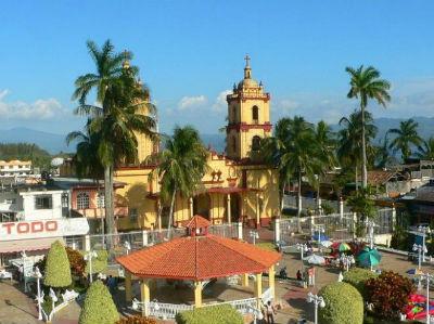 Santuario de la Virgen del Carmen en Catemaco Ver