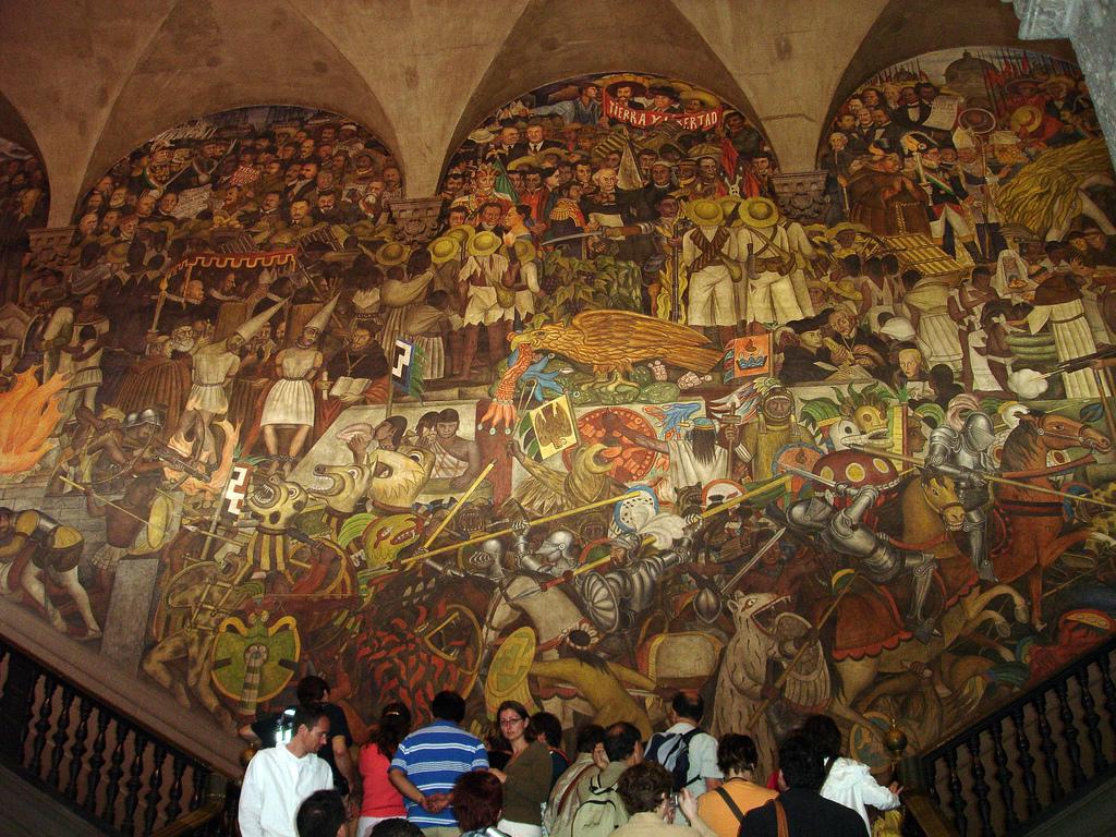 Muralismo atractivos turisticos de mexico for El mural guadalajara jalisco