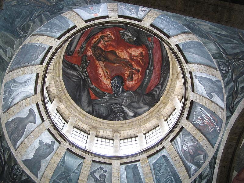 los murales de clemente orozco en guadalajara atractivos