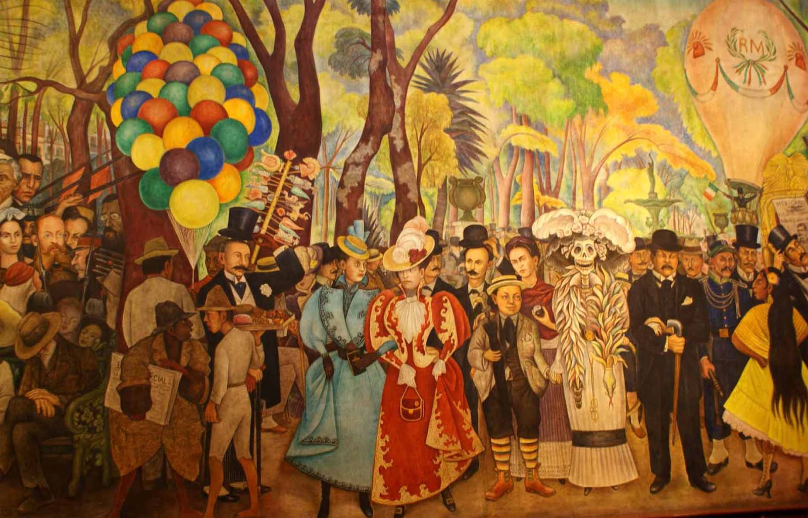 Muralismo mexicano atractivos turisticos de mexico for Arte mural mexicano