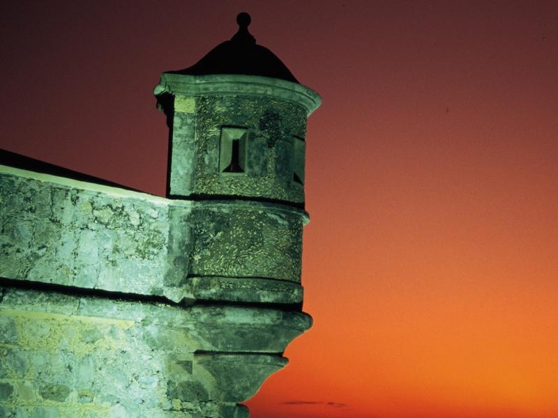 Baluarte de San Miguel en Campeche