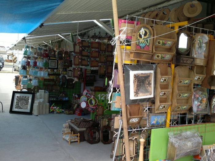Mercado turístico artesanal de Tequisquiapan