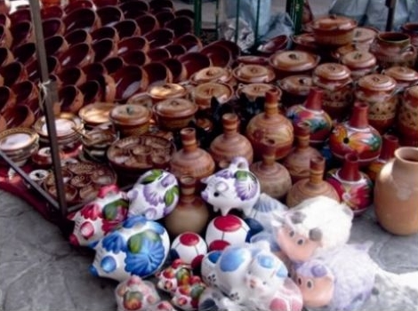 Tianguis artesanal de Tonalá