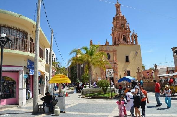 Parroquia de Rincón de Romos