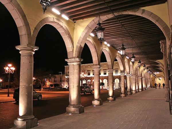 Turismo nocturno en la Ciudad de Durango
