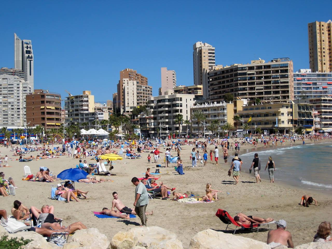 Playa en semana santa 2