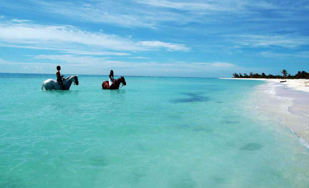 Quintana Roo Riviera Maya Playa del Carmen Beach Backhorse ridding - Photo by Riviera Maya